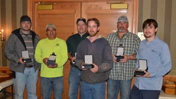 Service Awards Brubacher Excavating Pad Site