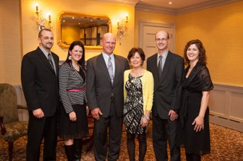 Keith Brubacher and Family; Executive of the Year, Specialty Contractor