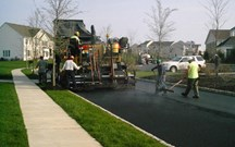 Asphalt Paving and Milling Services at Brubacher
