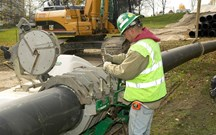 Pipe Fusion Services at Brubacher