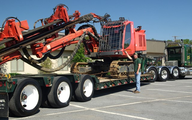 Trucking Heavy Haul Services Brubacher Excavating Pad Site Construction Drilling Blasting Milling Paving Directional Drilling Surveying Vacuum Excavation Demolition