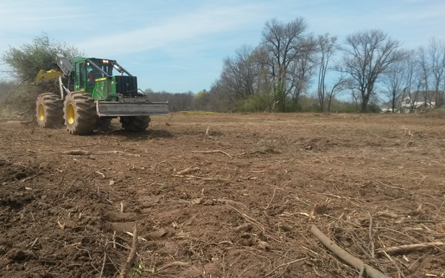 Land Preparation, Clearing Property and Site Grading | Brubacher